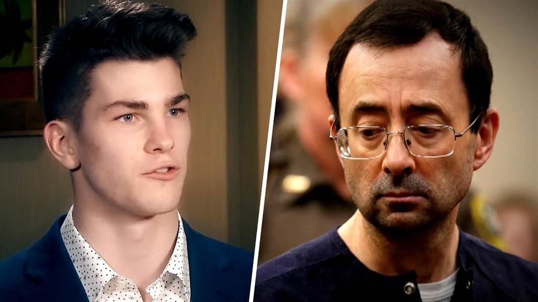 Michigan Gymnast Becomes First Male Victim To File Larry Nassar Lawsuit